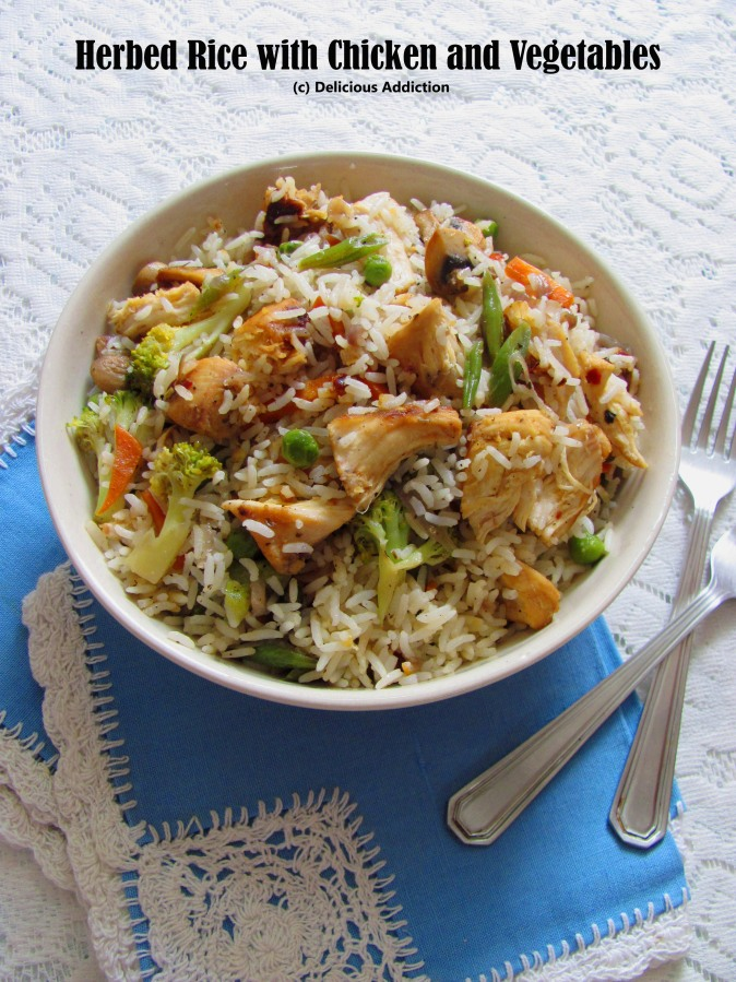 Herbed Rice with Chicken andVegetables