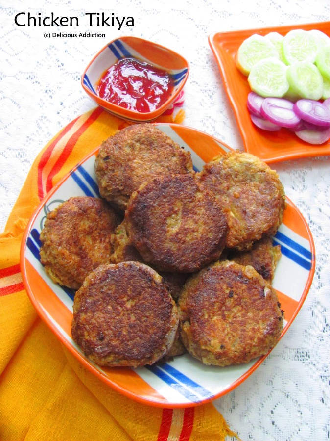 Chicken Tikiya (Chicken Patty)