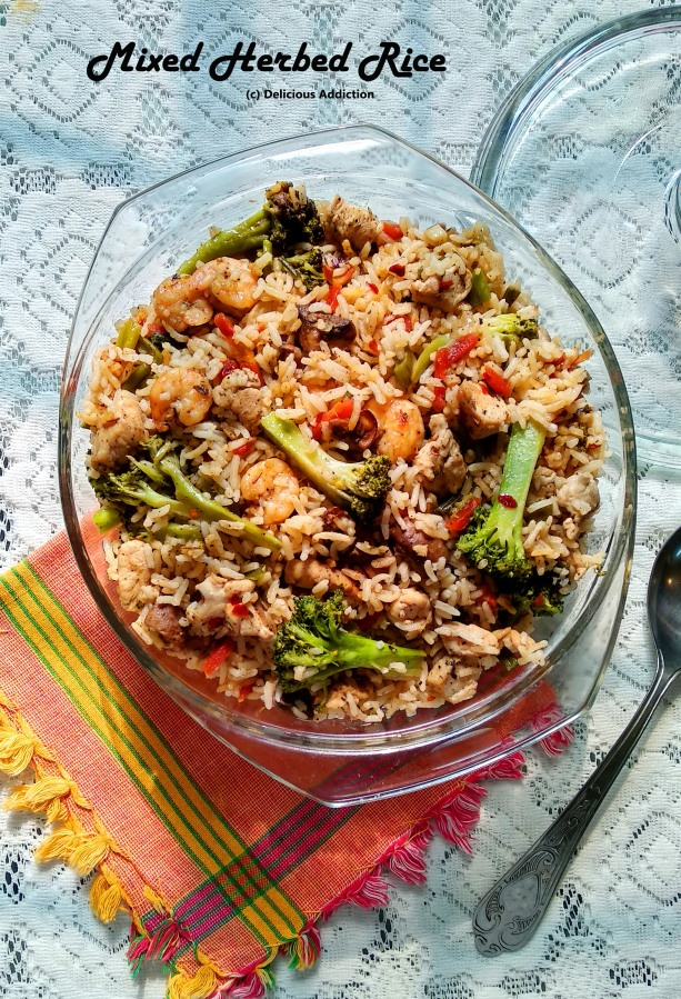 Mixed Herbed Rice
