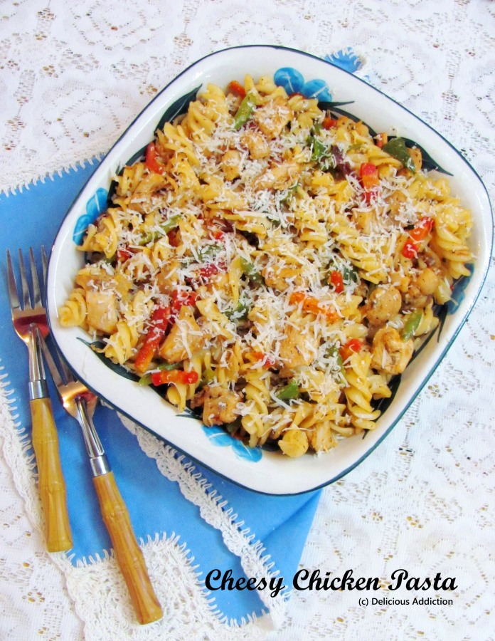 Cheesy Chicken Pasta