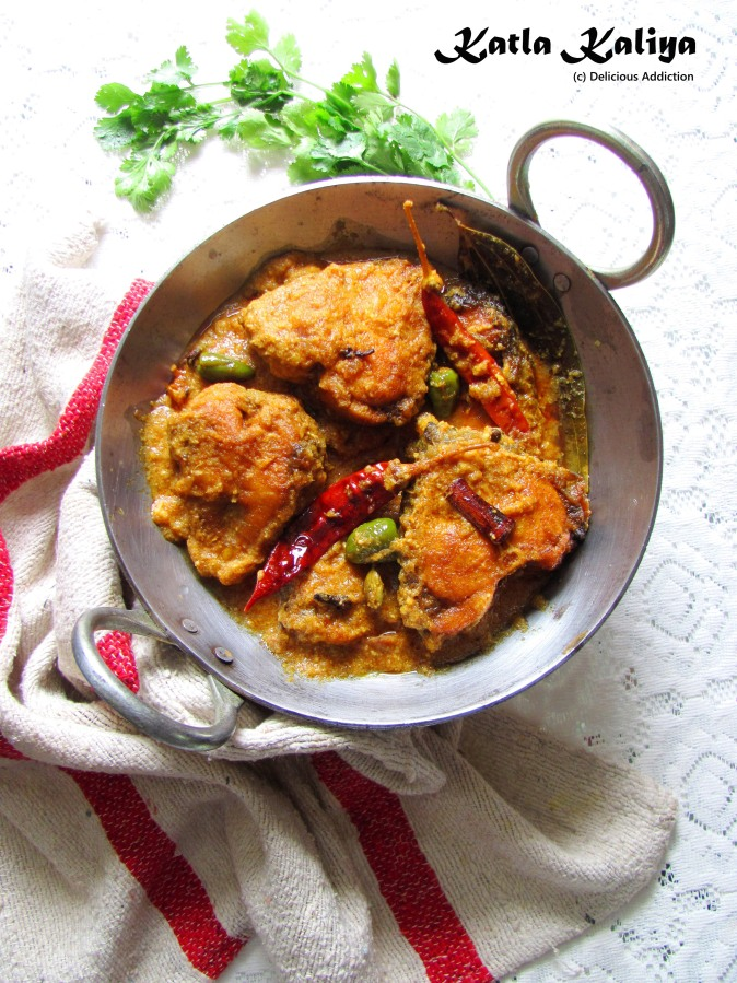 Katla Kaliya (Spicy Fish Curry)