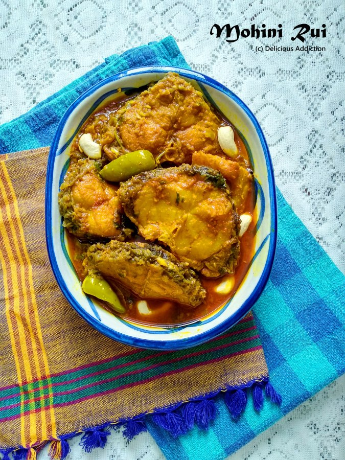 Mohini Rui (Rich Rohu Fish Curry)