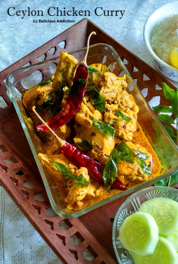 Ceylon Chicken Curry