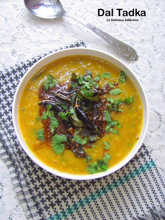 Dal Tadka (Mixed Lentil Soup)
