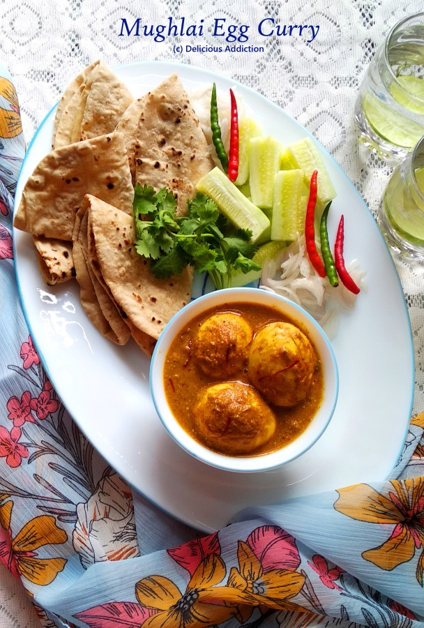 Mughlai Egg Curry (Fragrant EggCurry)