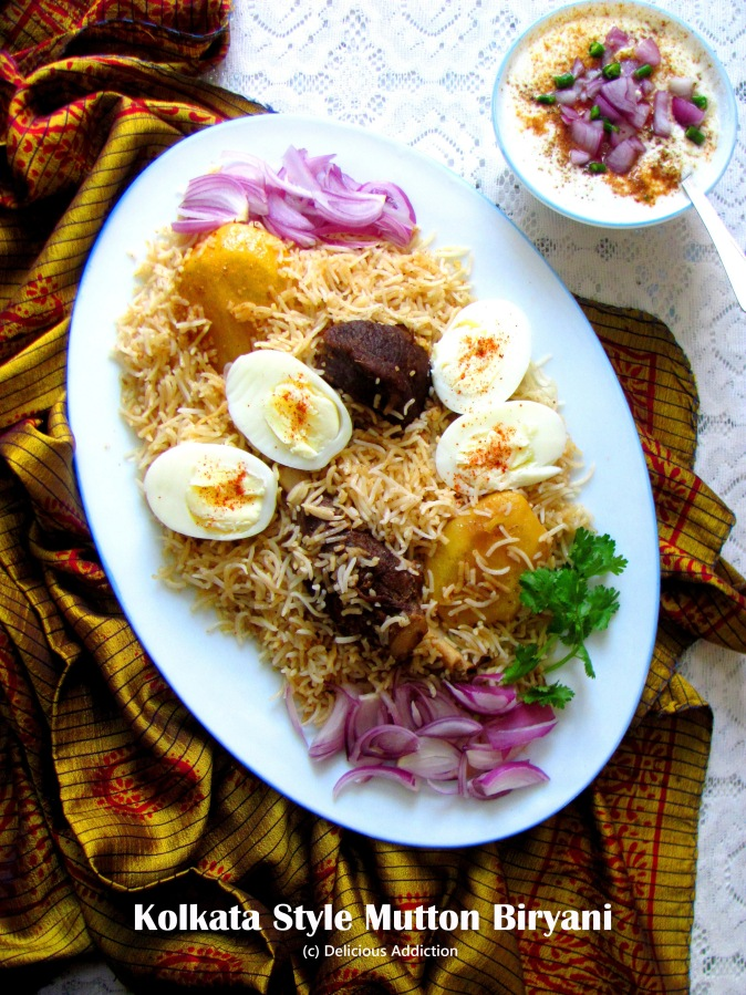 Kolkata Style MuttonBiryani