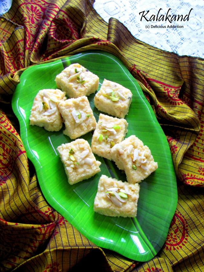 Kalakand (Milk based IndianFudge)