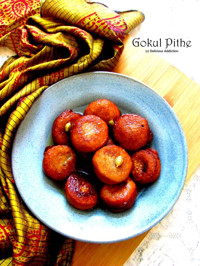 Gokul Pithe (A coconut based traditionalsweet)
