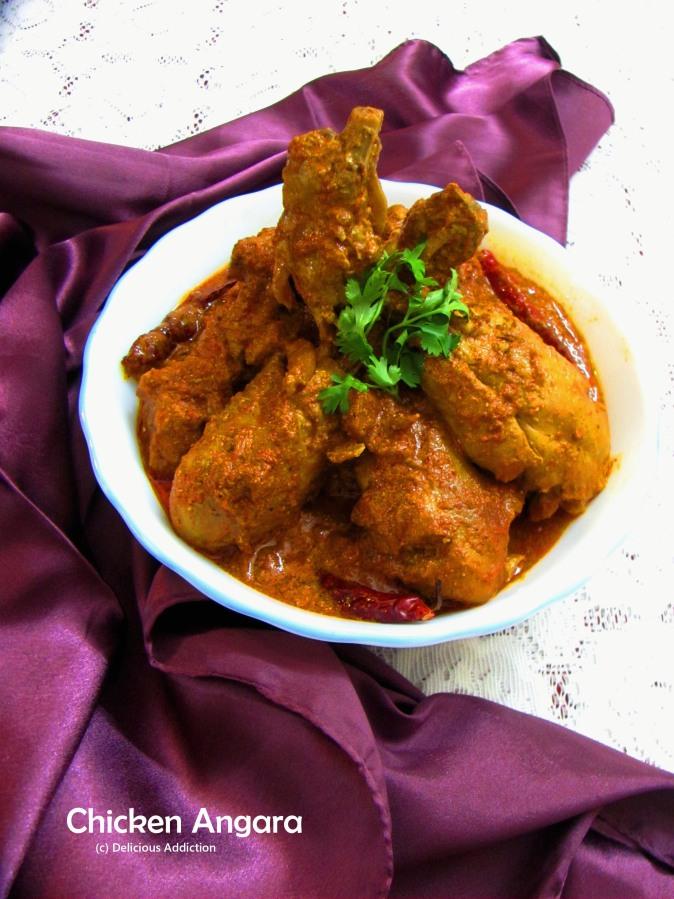 Chicken Angara (Smoky Flavored ChickenCurry)
