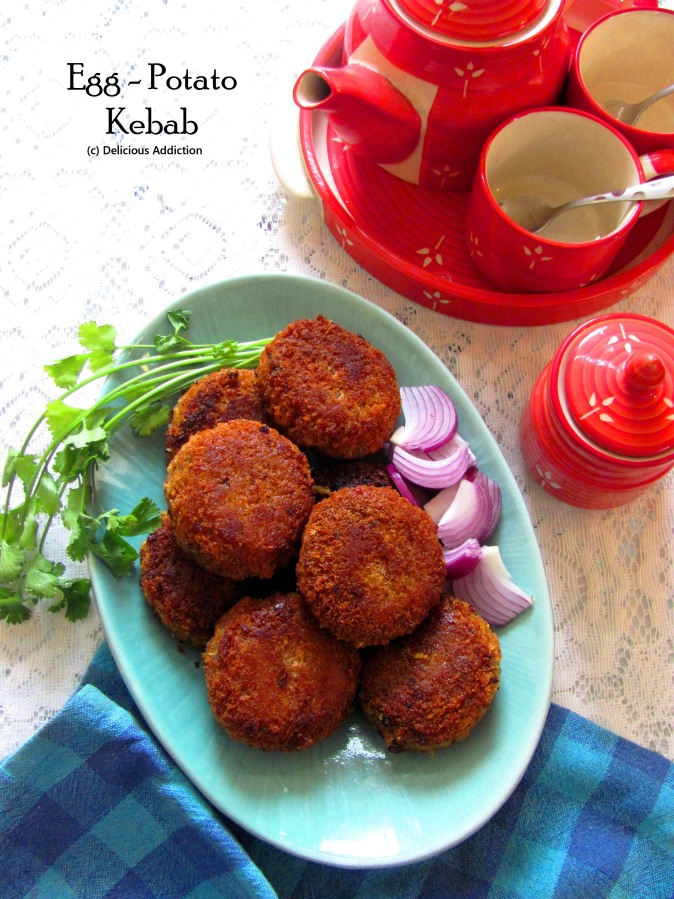 Egg-Potato Kebab