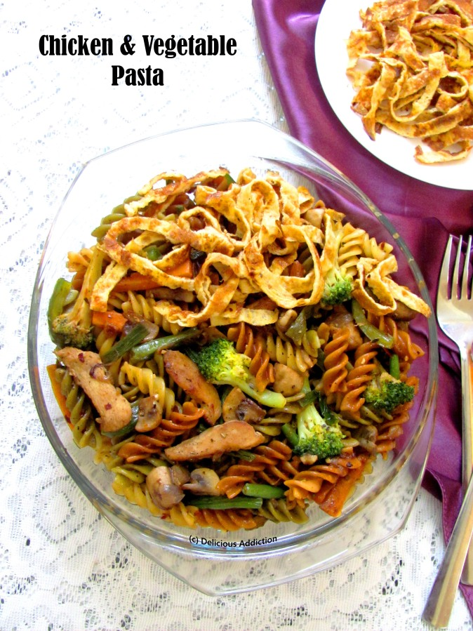 Chicken & Vegetable Pasta
