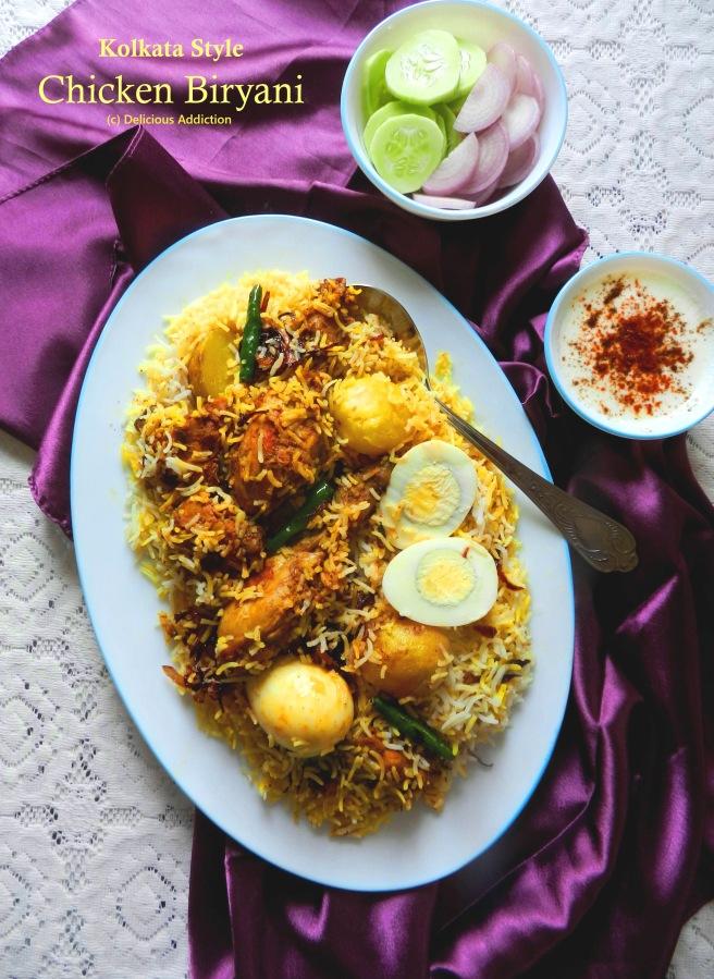 Kolkata Style ChickenBiryani