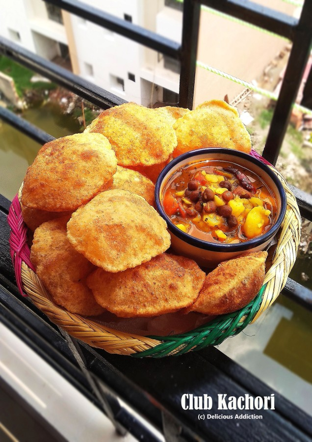 Club Kachori (Indian FriedBread)