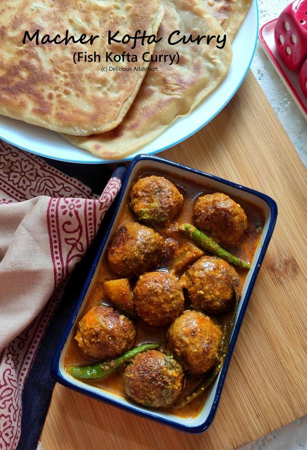 Macher Kofta Curry (Fish KoftaCurry)