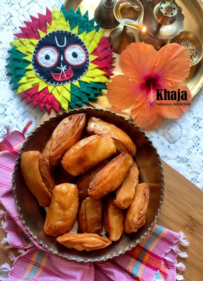 Khaja (A Traditional Sweet, specialty ofOrissa)