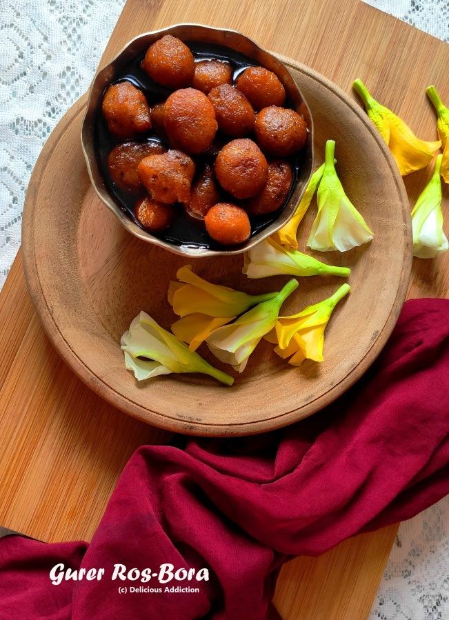 Gurer Roshbora (A Traditional BengaliSweet)