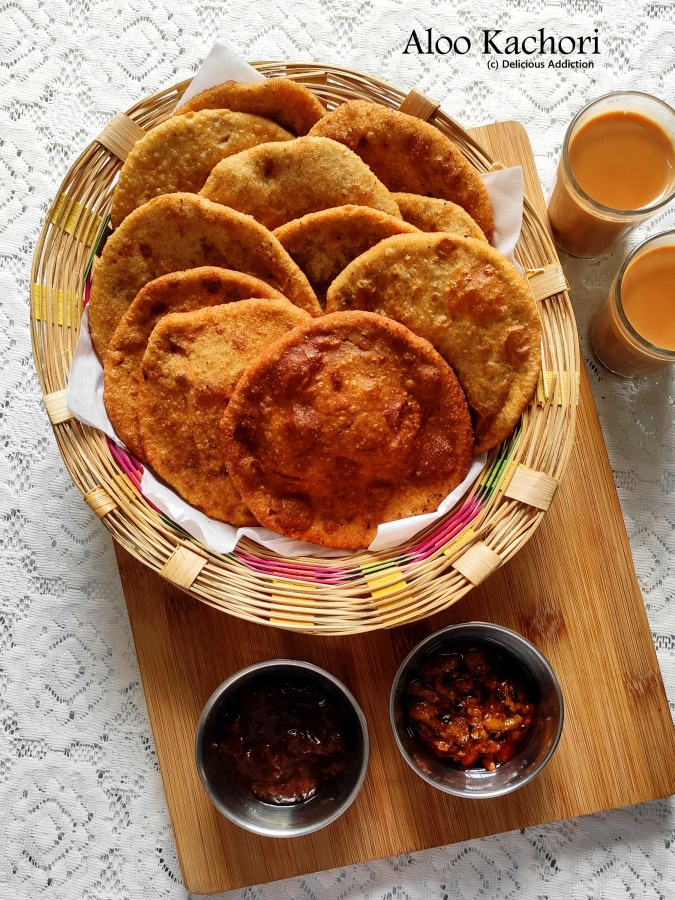Aloo Kachori (Stuffed Potato Puffed IndianBread)
