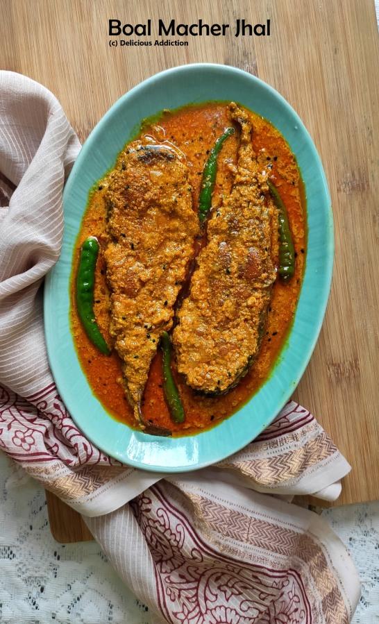 Boal Macher Jhal (Spicy Wallago FishCurry)