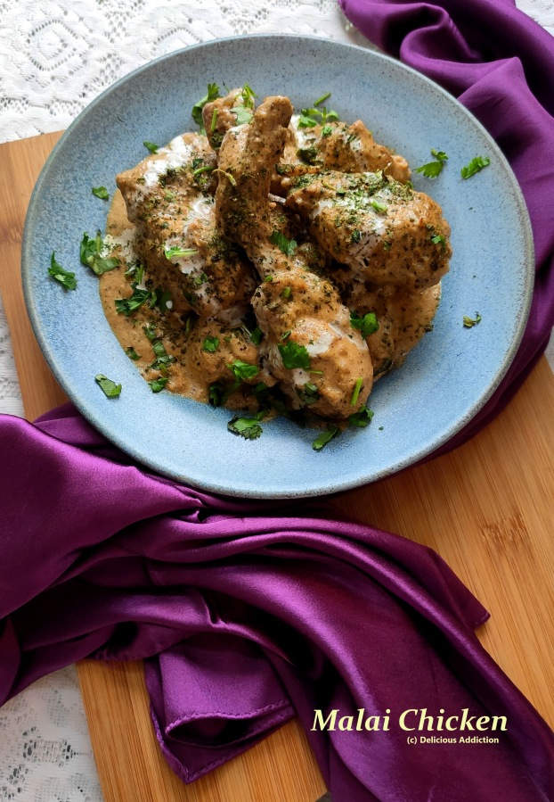 Malai Chicken (Creamy ChickenCurry)