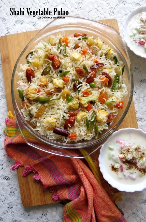 Shahi Vegetable Pulao