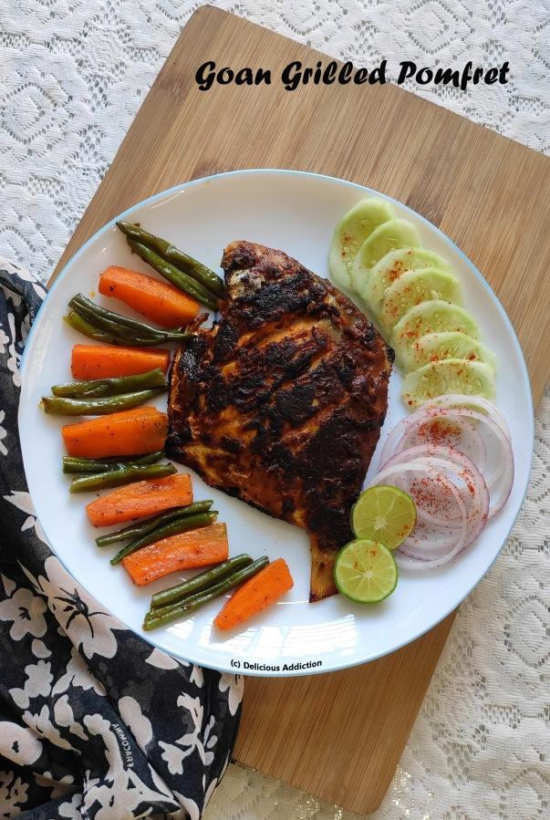 Goan Grilled Pomfret