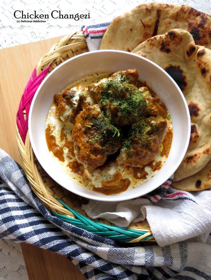 Chicken Changezi (A famous Chicken recipe from MughlaiCuisine)
